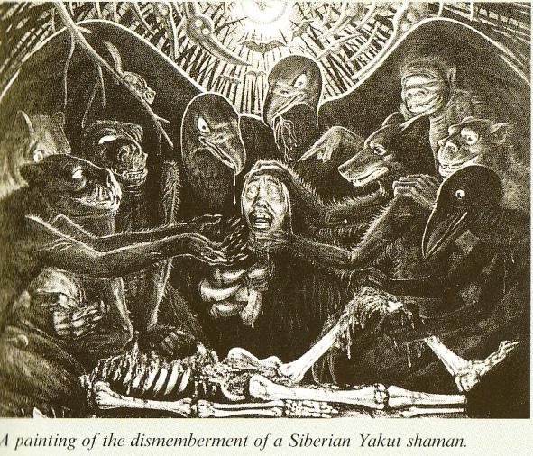 Dismemberment of Siberian Yakut Shaman