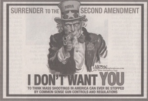 uncle sam loves guns